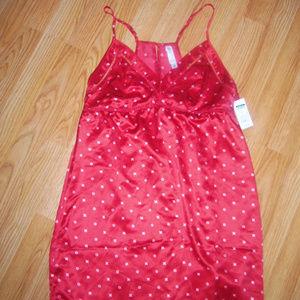 Red Short Nightie M